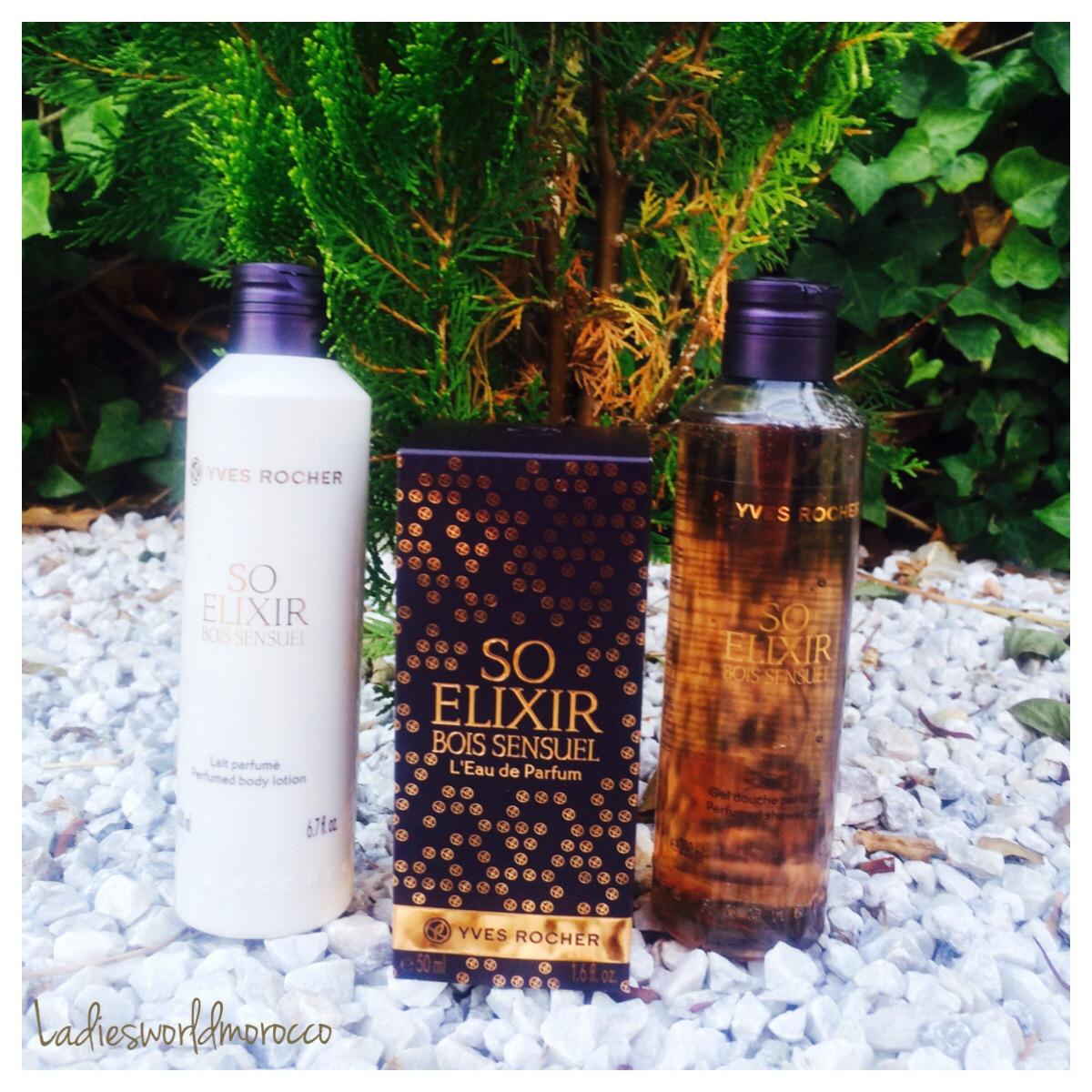 Le nouveau So Elixir Bois Sensuel de chez Yves Rocher # So Elixir Bois Sensuel
